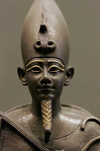 Statuette of Osiris.