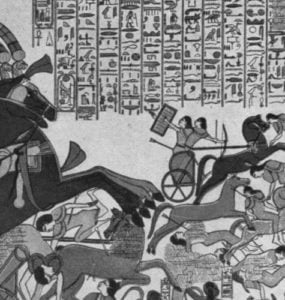 Ramesses II's victory over the Cheta people and the Siege of Dapur.