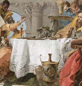 The Banquet of Cleopatra.