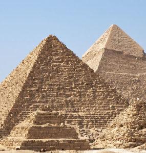 All Giza Pyramids.