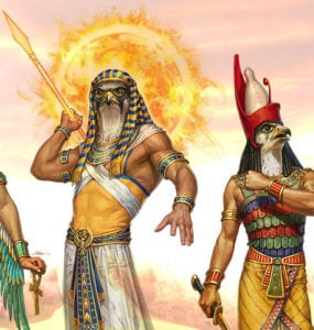 Most Famous Egyptian Gods.