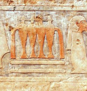 Amun Court in Hatshepsut Temple.
