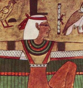 The Goddess Isis.