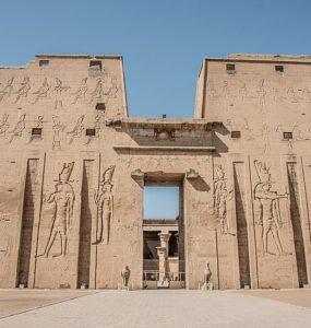 The Temple of Edfu.