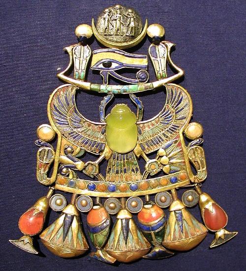 Eye of Horus pendant.