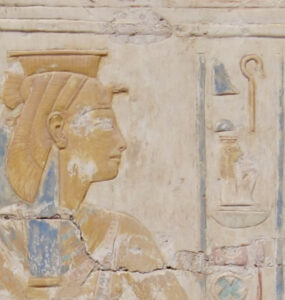 Depiction of Heqet