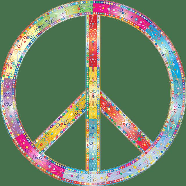 Peace sign / CND Symbol.
