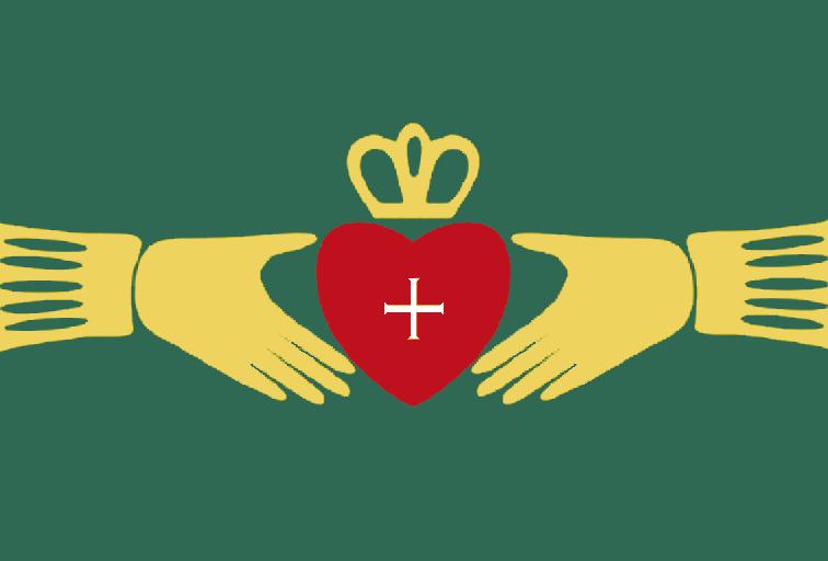 Irish Claddagh Symbol.