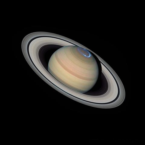 Planet Saturn.
